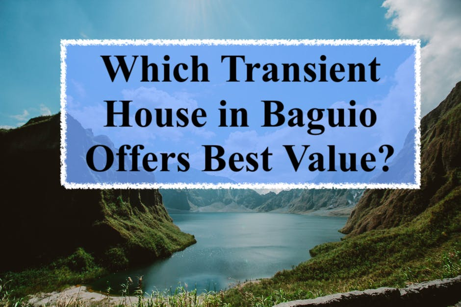 transient house in Baguio